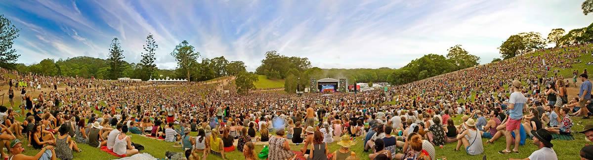 Falls Festival panorama
