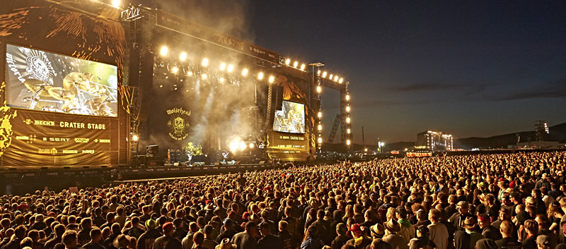 Rock Am Ring nightfall